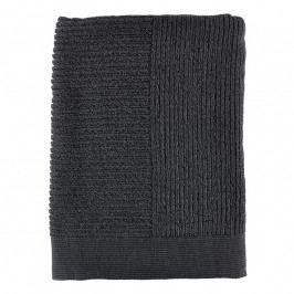 ZONE CLASSIC fürdőtörölköző, 70 × 140 cm, anthracite/black