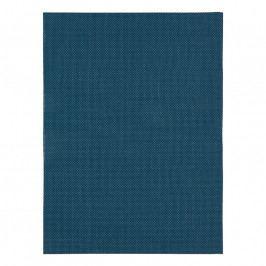 ZONE Tányéralátét, 30 × 40 cm, sima felületű, azure blue