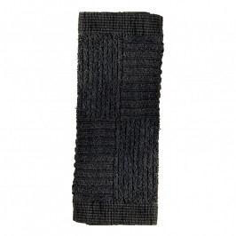 ZONE CLASSIC arctörlő törölköző, 30 × 30 cm, black