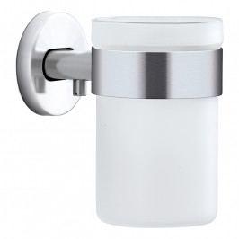 Blomus AREO fogkefetartó pohár, falra szerelhető, matt rozsdamentes acél