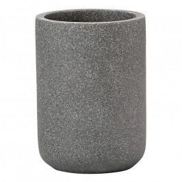 ZONE SOLID fogkefetartó pohár, concrete grey
