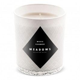 Meadows Mystic Cashmere illatgyertya, medium, fehér