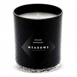 Meadows Opulent Mahogany illatgyertya, medium, fekete