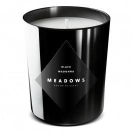 Meadows Black Madonna illatgyertya, medium, fekete