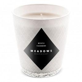 Meadows Mystic Cashmere illatgyertya, mini, fehér