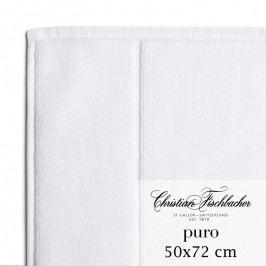 Christian Fischbacher Puro fürdőszobaszőnyeg, 50 x 72 cm, fehér, Fischbacher