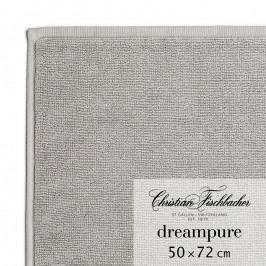 Christian Fischbacher Dreampure fürdőszobaszőnyeg, 50 x 72 cm, grafitszürke, Fischbacher