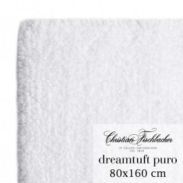 Christian Fischbacher Dreamtuft Puro fürdőszobaszőnyeg, 80 x 160 cm, fehér, Fischbacher