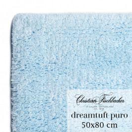 Christian Fischbacher Dreamtuft Puro fürdőszobaszőnyeg, 50 x 80 cm, babakék, Fischbacher