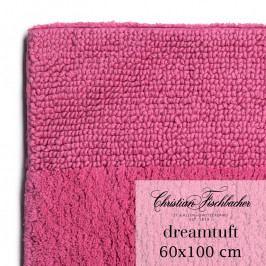 Christian Fischbacher Dreamtuft fürdőszobaszőnyeg, 60 x 100 cm, bíbor rózsaszín, Fischbacher