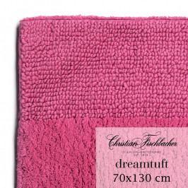 Christian Fischbacher Dreamtuft fürdőszobaszőnyeg, 70 x 130 cm, bíbor rózsaszín, Fischbacher