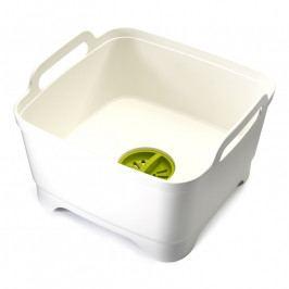 Joseph Joseph Wash&Drain™ műanyag mosogatótál, fehér
