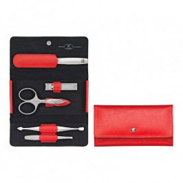 ZWILLING TWINOX® Dauphine manikűrkészlet körömcsipesszel, 5 részes, piros