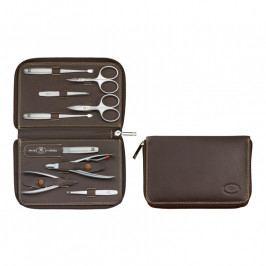 ZWILLING TWINOX® Emblem brown manikűrkészlet, 9 részes