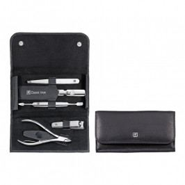 ZWILLING ZWILLING® Classic Inox manikűrkészlet bőrvágó csipesszel, 5 részes, fekete