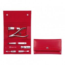 ZWILLING ZWILLING® Classic Inox manikűrkészlet körömcsipesszel, 5 részes, piros
