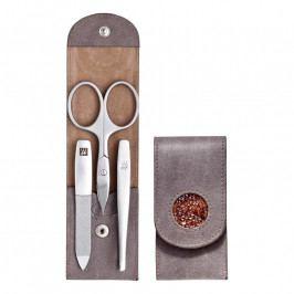 ZWILLING TWINOX® Crystal badge manikűrkészlet, 3 részes, szürkésbarna