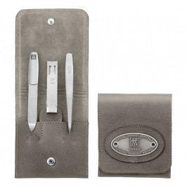ZWILLING TWINOX® Taupe manikűrkészlet, címeres, 3 részes