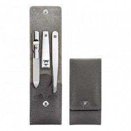 ZWILLING ZWILLING® Classic Inox manikűrkészlet körömcsipesszel, 3 részes, sötétszürke Manicure Tool Sets