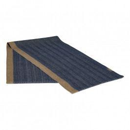 GEORG JENSEN DAMASK HERRINGBONE asztali futó, deep blue, 150 × 44 cm