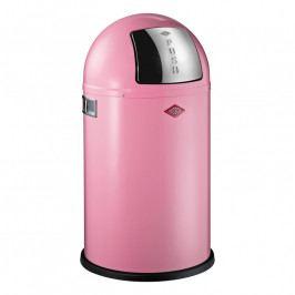 Wesco Pushboy Junior szemeteskosár, 22 liter, rózsaszín
