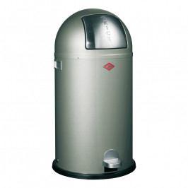 Wesco Kickboy szemeteskosár, 40 liter, ezüstszürke