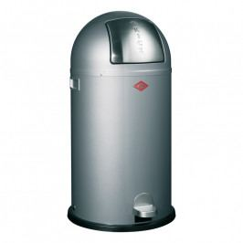 Wesco Kickboy szemeteskosár, 40 liter, ezüst