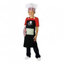 MÜkitchen MiniMÜ® szett gyerekeknek: kötény, edényfogó kesztyű és szakácssapka, Chef In Training