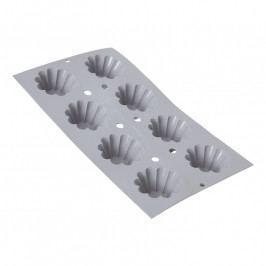 de Buyer Elastomoule® professzionális szilikon sütőforma, 8 db kisméretű briós (Ø 6 cm) sütéséhez