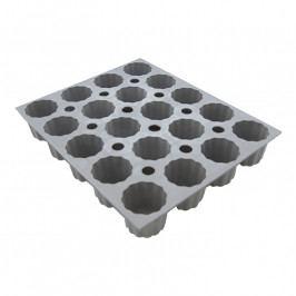 de Buyer Elastomoule® professzionális szilikon sütőforma, 20 db canelé (Ø 3,5 cm) sütéséhez