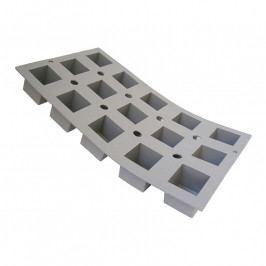 de Buyer Elastomoule® professzionális szilikon sütőforma, 15 db mini kocka sütéséhez