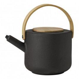 Stelton Theo teáskanna; 1,25 liter; black; Nordic; stelton