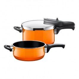 Silit Passion Orange Sicomatic® t-plus kuktakészlet; 2 db; 4,5 liter és 3,0 liter; Silit