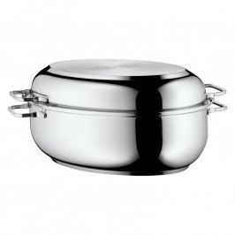 WMF Ovális sütőtál multifunkciós fedővel, rozsdamentes acél