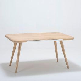 Ena One tölgyfa étkezőasztal, 140 x 100 x 75 cm - Gazzda