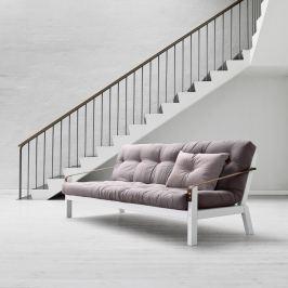 Poetry White/Gris/Light Bordeaux kihúzható kanapé - Karup