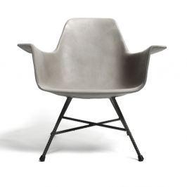 Hauteville alacsony beton fotel - Lyon Béton