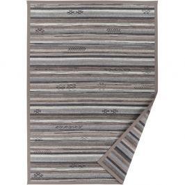 Liiva szürkésbézs, mintás kétoldalú szőnyeg, 140 x 200 cm - Narma