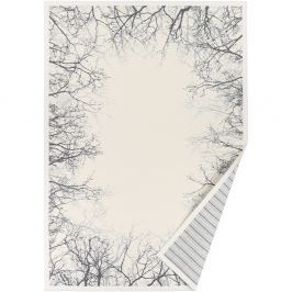 Puise fehér, mintás kétoldalú szőnyeg, 140 x 200 cm - Narma