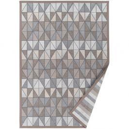 Treski szürkésbézs, mintás kétoldalú szőnyeg, 160 x 230 cm - Narma