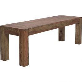 Desert Bank fából készült étkezőasztal, 140 x 70 cm - Kare Design