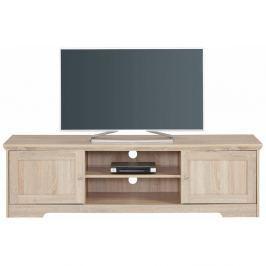 Annie tölgyfa színű TV asztal, 160 x 45 cm - Støraa