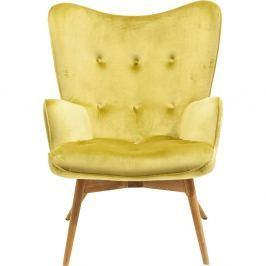 Vicky sárga fotel - Kare Design