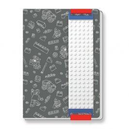Világossárga szögletes tárolódoboz - LEGO®