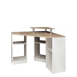 Nick barna-fehér sarokíróasztal - Symbiosis