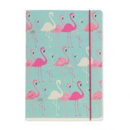 Flamingo Aqua jegyzetfüzet, a5 - GO Stationery