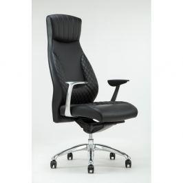 Luxe fekete forgó irodai szék - RGE