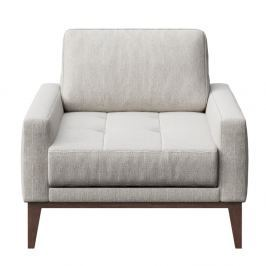 Musso Tufted világosszürke fotel - MESONICA