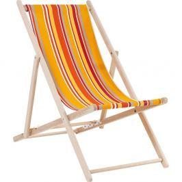 Summer narancssárga csíkos strandszék - Kare Design