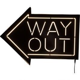 Way Out világító fali dekoráció - Kare Design